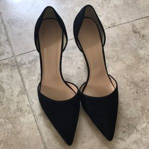 Brand new JCrew suede pumps